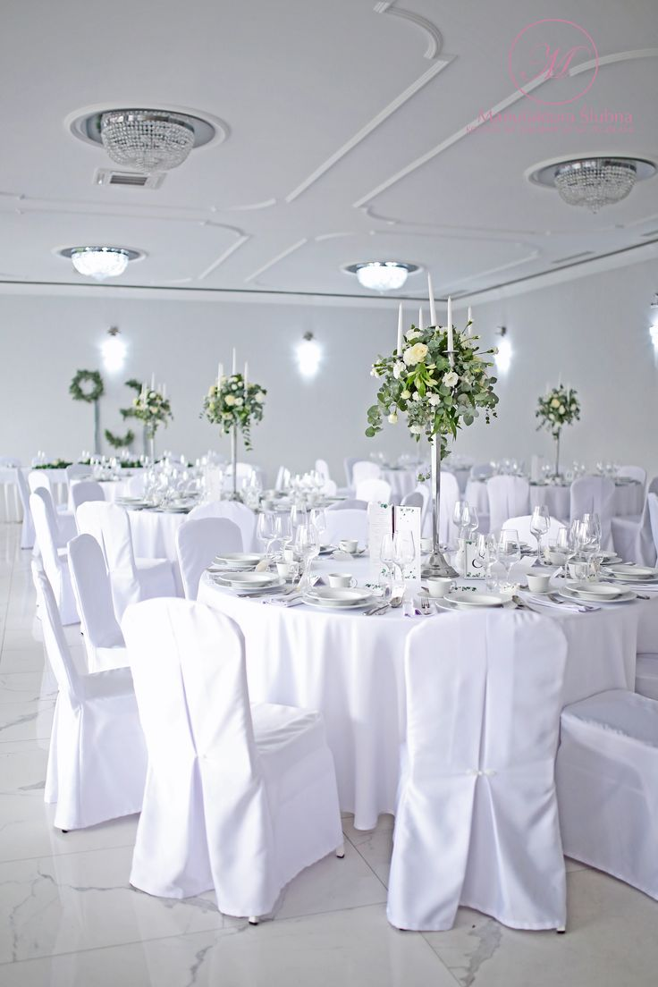 #elegant#simple#clear#wedding#decorations#style#eucalyptus#flowers#composition#silver#white