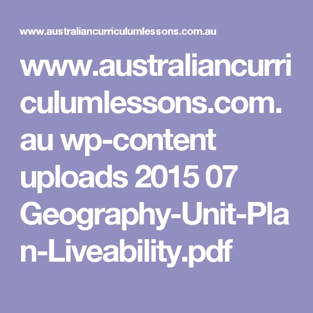 year 7 geography place study Year 7 plan — australian curriculum: the concepts to develop geographical understanding in this year level are place year 7 plan — australian curriculum.