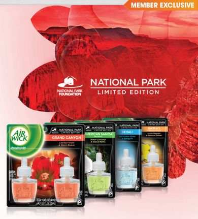 Love these Air Wick National Park scents. Grand Canyon is my fave!