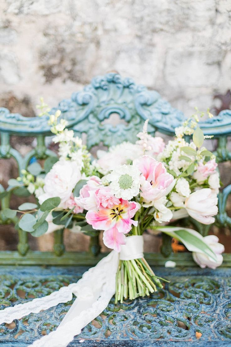 A Textured White And Pink Wedding Bouquet Anniversary Photo Session At Le San