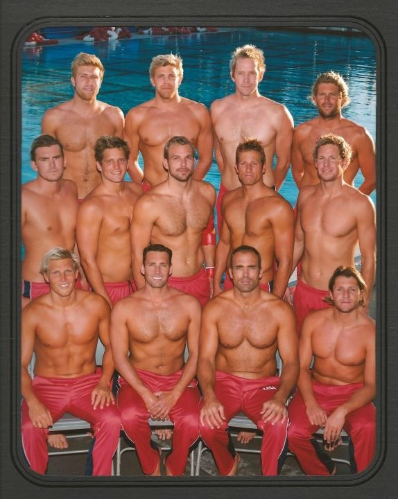 What girls water polo team nude