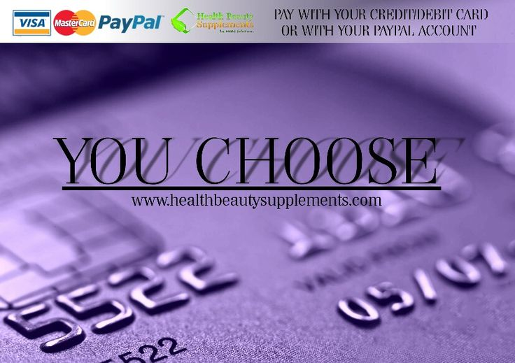 Now pay with your debit/credit or Paypal account when you purchase directly from our website.  www.healthbeautysupplements.com  #healthstore #onlinehealth #vitamins