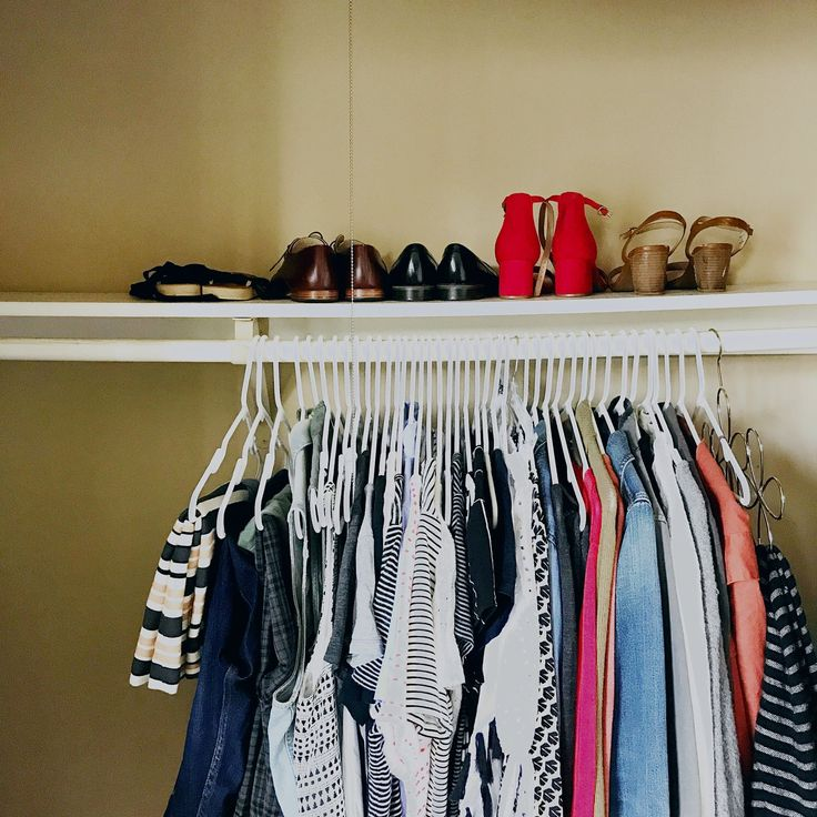 HOW TO MAKE 400 FEWER DECISIONS EVERY DAY: A CAPSULE WARDROBE (This is my entire wardrobe now, except for a pair of jeans, a pair of leggings, and boots.)