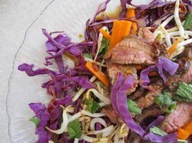 Marinated Thai Steak Salad