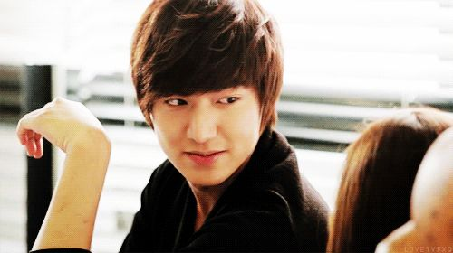 #lee min ho #korean #actor #gif