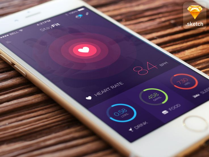 hey friends, here is a concept of a health app, which helps people to track down…