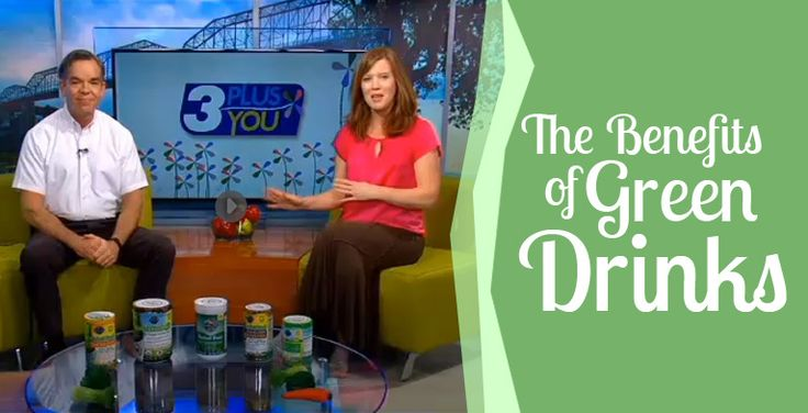 Watch Ed Jones Talk About The Benefits Of Green Drinks On Channel 3 - WRCBtv.com   Chattanooga News, Weather  This morning, Ed Jones talked about the benefits of drinking green on NewsChannel 3. Meat, sugar, white f... -