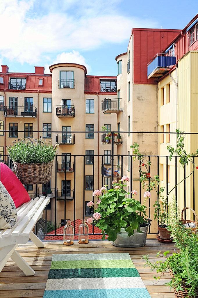 Un balcón para tomar nota | Decorar tu casa es facilisimo.com