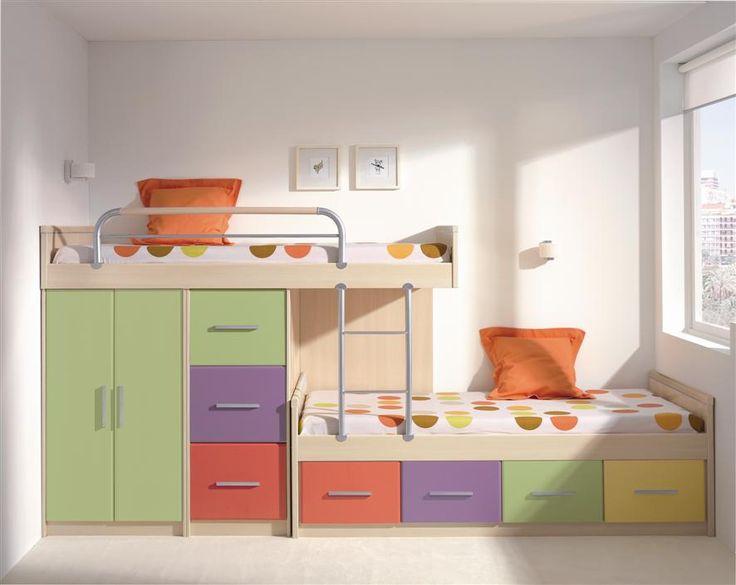 modelos de camarotes para nios dormitorio decora ilumina