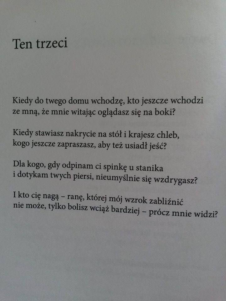 """""""Ten trzeci""""  Rafał Wojaczek"""