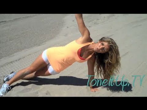 Lose love handles and slim your whole body! Workout