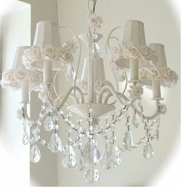 Gallery For Website Shabby Chic Chandelier