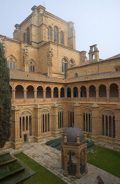 Iglesia-Convento de San Esteban: Cloister Salamanca  Spain