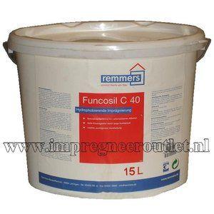 Hydrofoberende impregneercrème voor oud beton. Remmers Funcosil C40 wordt met name gebruikt als een zeer diep in-dringende hydrofobering en grondering voor beton en gewapend beton.