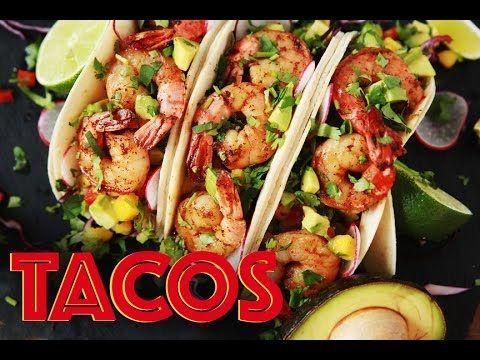 Tacos aux crevettes, avocat et mangue | Max L'affamé