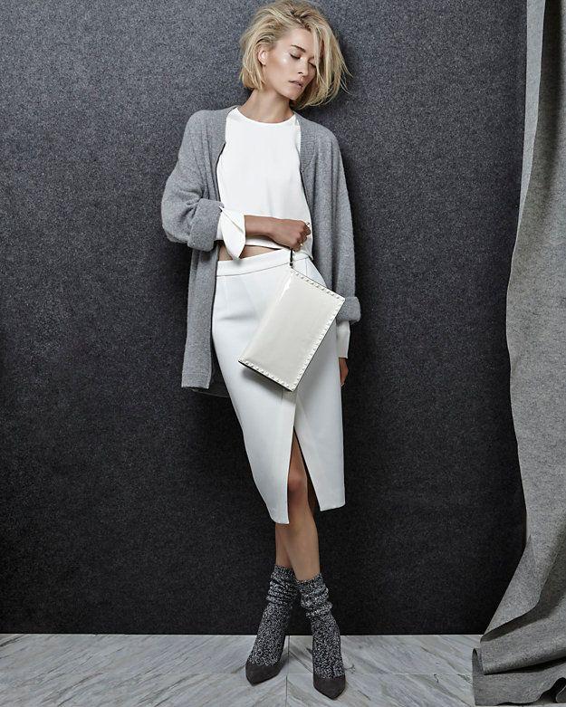Sleek, comfortable, and socks with heels? #yesplease