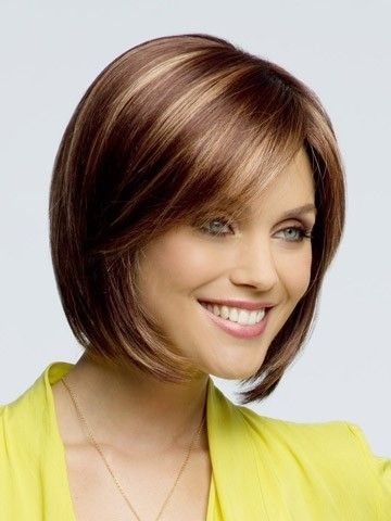 Straight Lace Front Charming Synthetic Wig - Image 1