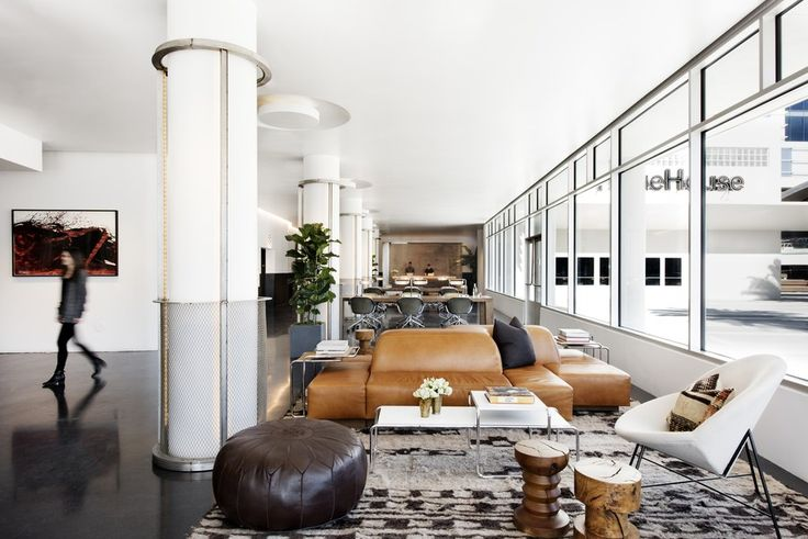 The exclusive office hub NeueHouse opens its second location, in Hollywood's CBS Radio Building