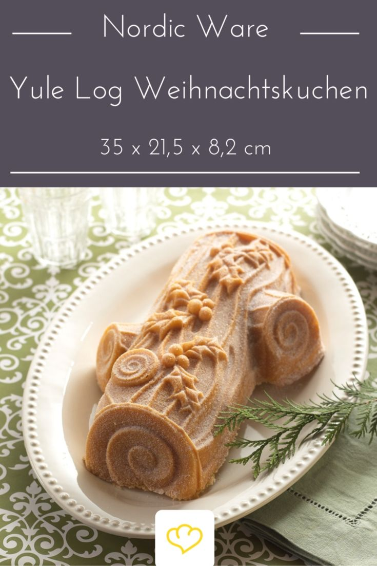 In Frankreich und den USA ist Yule Log ein beliebtes Weihnachtsdessert.
