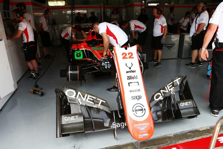 Malaysian Grand Prix 2013 // spot the logo!