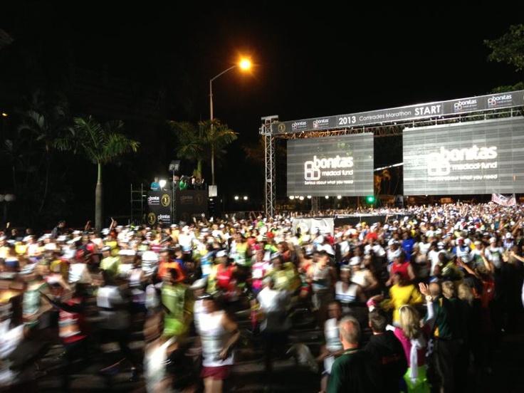 Start of Comrades Marathon 2013
