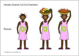 Handa's Surprise story cut-outs (SB10465) - SparkleBox