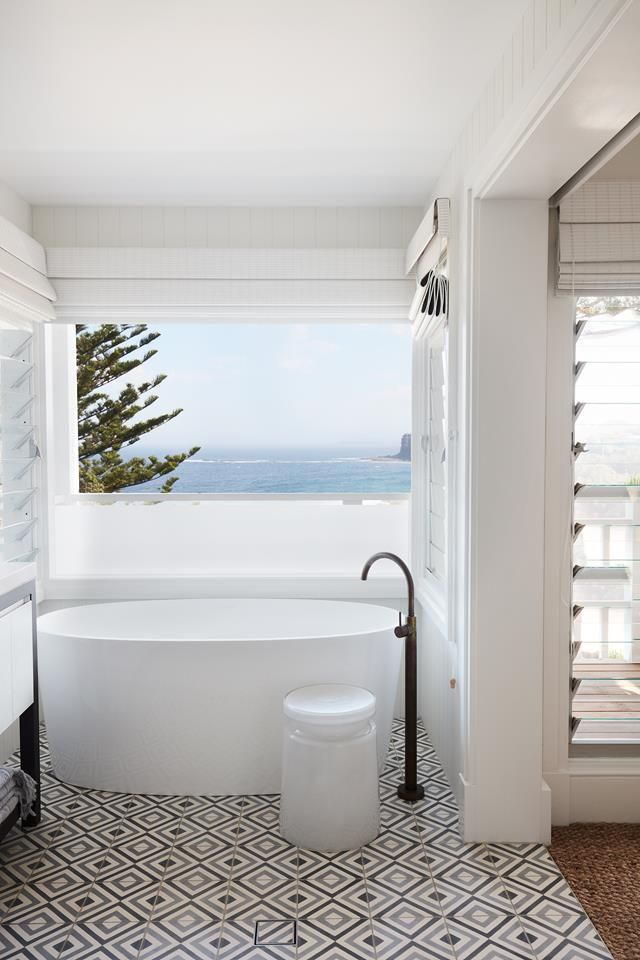 This bathroom  complete with freestanding bathtub  is a true sanctuary   overlooking Sydney s Northern. Best 25  Complete bathrooms ideas on Pinterest   Grey white