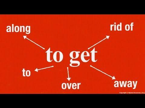 Разговорные выражения. To get и его предлоги. Урок английского языка для всех. - YouTube