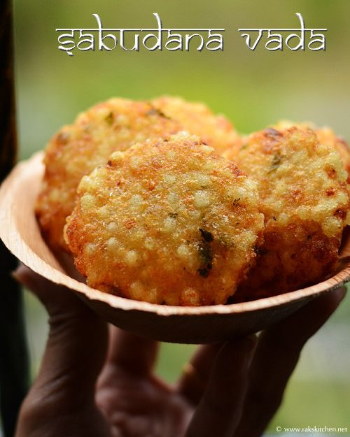 Sabudana vada recipe | Navratri Vrat ka khana (snacks)  indian food