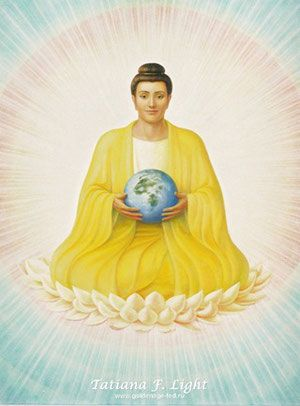 «Gautama Buddha»   («Гаутама Будда») by Tatiana F. Light   - Сайт goldenage-fed!