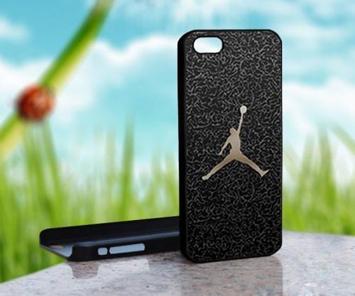 Nike Air Jordan Logo Custom - Photo on Hard Cover For iPhone 4,4S