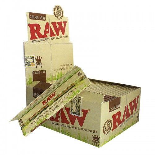 Τα οργανικά χαρτάκια Raw King Size Ισπανικής κατασκευής είναι λεπτά τσιγαρόχαρτα σε καφέ ανοιχτό χρώμα. Κάθε τεμάχιο περιέχει 32 χαρτάκια στριφτού τσιγάρου. Προσθήκη ετικετών στη φωτογραφία