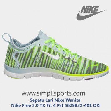Sepatu Lari Nike Wanita Nike Free 5.0 TR Fit 4 Prt 5629832-401 ORI