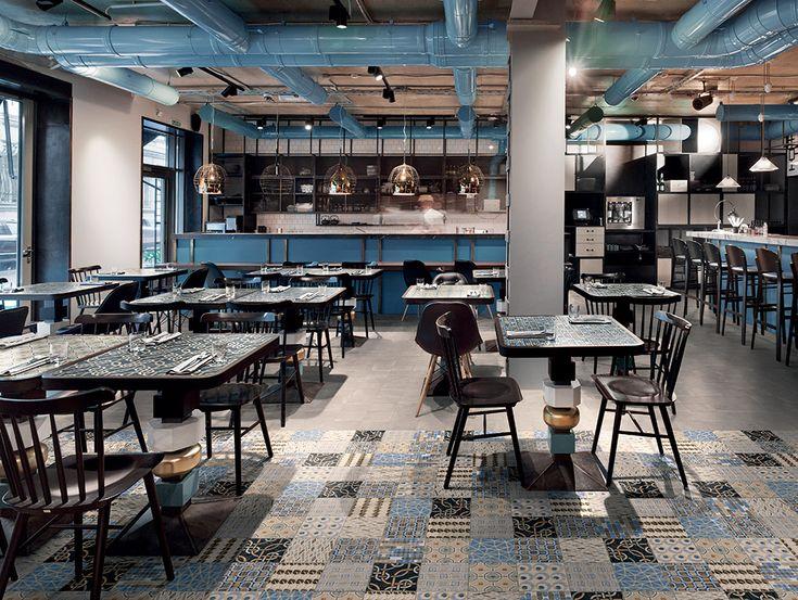 CEMENTINE_EVO   Ceramiche Fioranese piastrelle in gres porcellanato per pavimenti esterni e per rivestimenti interni.