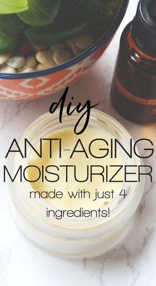 DIY Anti-Aging Face Moisturizer