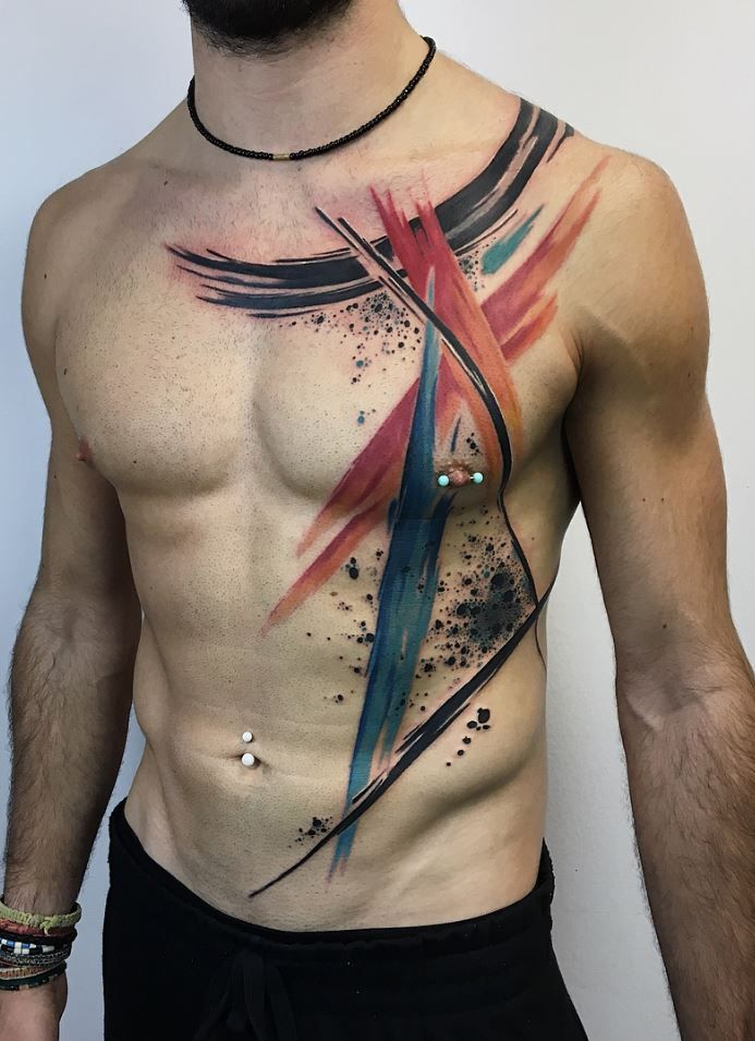 cd3825ce7892f Freehand Abstract Tattoo | Tattoos | Abstract tattoo designs ...