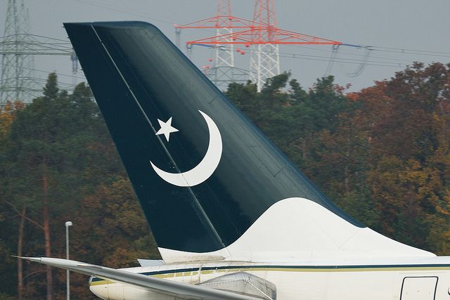 "PIA Pakistan International Airlines Airbus A310-308 tail AP-BEU  MSN 691 ""Peshawar"" @ FRA"