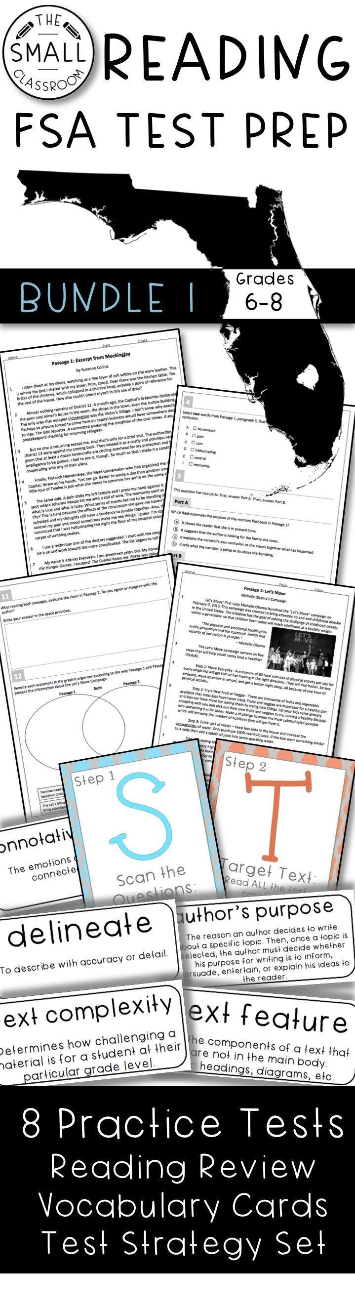 Pin On Tpt Language Arts Lessons Fsa reading practice grade answer
