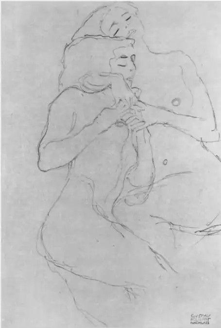 #Dibujo #klimt estudios de cuerpo #sensual #erotica