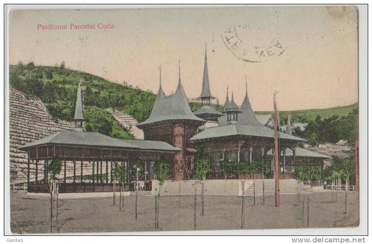 Piatra Neamt - Pavilionul Parcului Cozla - interbelica
