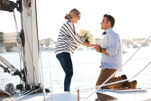 Love this nautical proposal! How sweet!!!