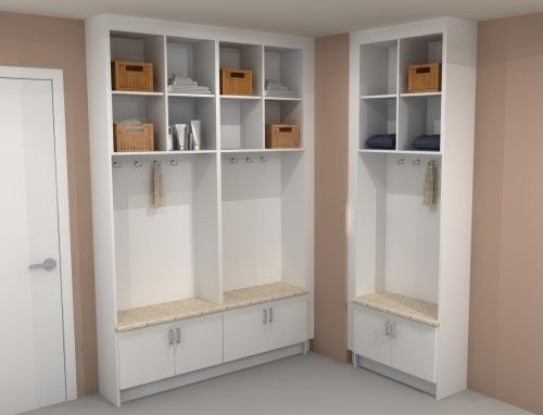 Take Advantage Of A Small Corner To Arrange Your IKEA Mudroom Layout
