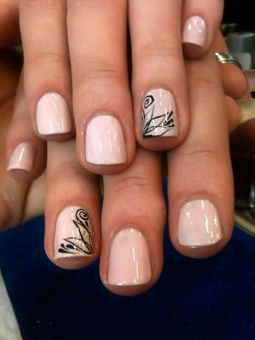 Dramatic Nail Designs For Short Nails   #ShortNails