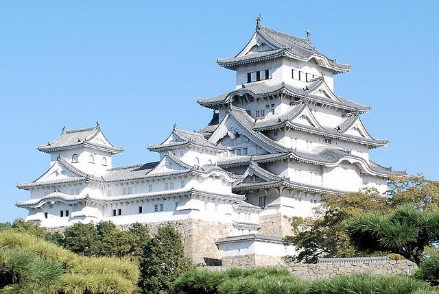 Himeji Castle (姫路城) in Himeji, Japan