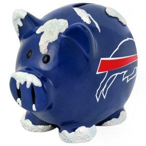 Buffalo Bills NFL Large Thematic Piggy Bank NEW FREE SHIPPING