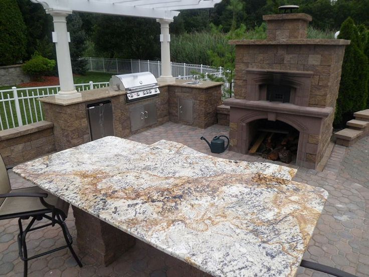 Cambridge Outdoor Fireplace Pizza Oven Kit Along With The Cambridge Pre Packaged Pergola Kit