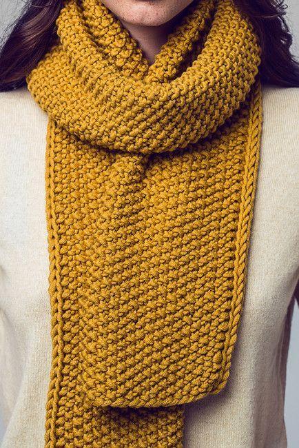 Kostenlose Anleitung: Strick Dir einen kuschligen Schal - Initiative Handarbeit