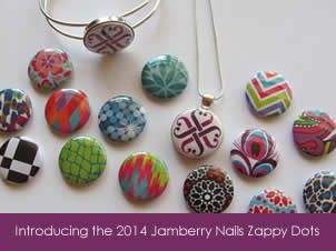 Jamberry Nails 2014 Collections. Zappy dots