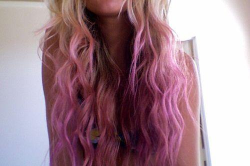 love this hair - dip dye <3