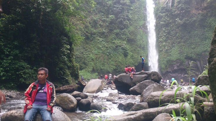 Simoko Waterfall, Desa Campaga, Bantaeng Sulawesi Selatan